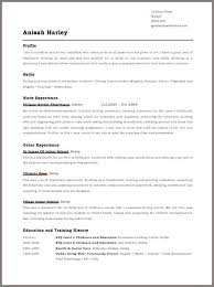 Free Curriculum Vitae Template Enchanting Curriculum Vitae Template Curriculum Template Free Best Of