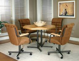 swivel dining chairs with casters. Charming Swivel Tilt Dining Chairs Full Size Of Colors Casual Room With Casters Wheels Furniture