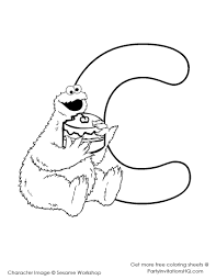 Download Coloring Pages. Cookie Monster Coloring Page: Cookie ...