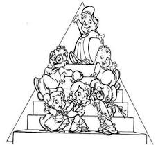 Small Picture Alvin And The Chipmunks Coloring Pages Kids Cartoon Coloring