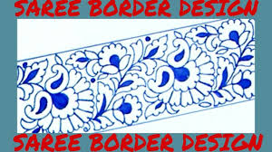 Saree Border Designs Images Draw Saree Border For Embroidery Designs Pencil Sketch