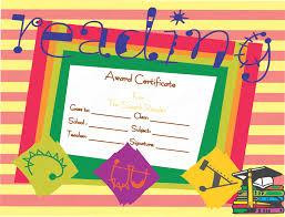 Best Certificate Templates Best Reader Award Certificate Template