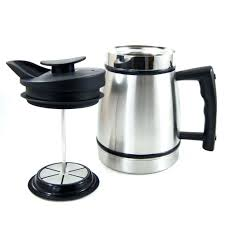 12 cup french press planetary design in stainless steel bodum replacement glass