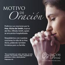 IACYM PERÚ - Hermanos sus oraciones por la Hna. Alcira de... | Facebook