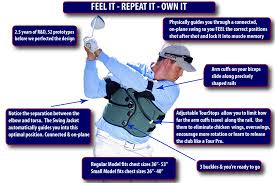 Swing Jacket Golf Swing Trainer Is An Easy Way To Improve