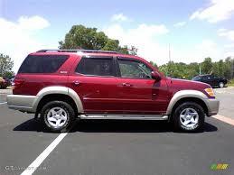 2001 Sunfire Red Pearl Toyota Sequoia SR5 #49629828 Photo #17 ...