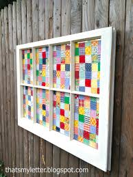 Frame a quilt! I love the idea of using an old window! | Pinterest ... & good use for my kantha quilts Quilt Window Art Tutorial - Love This Idea!  Could use an old window from Granny's house with one of her quilt tops! Adamdwight.com