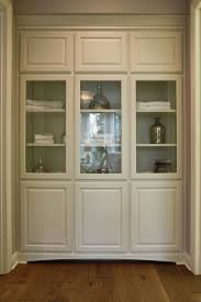 Burrows Cabinets bathroom floor to ceiling linen cabinets with
