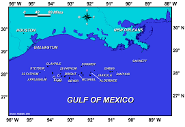 Flower Garden Banks National Marine Sanctuary Regional Maps