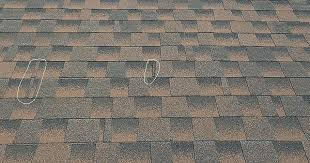 Thin Strip Cut on Architectural Shingles RoofingConstruction