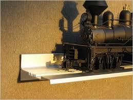 aluminum model train displays