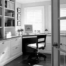 Home Study Furniture Cool Home Office Desk In Corner Room Area With Book Shelves