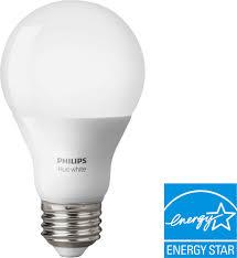 Philips Hue Light Bulb Types Philips Hue White A19 Smart Led Bulb White