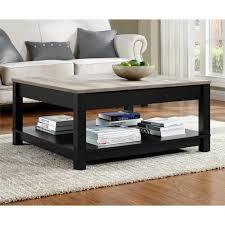 ameriwood home viola matte black storage coffee table hd80217 the home depot