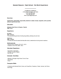 Teenage Resume Examples Of Resumes Resume Chief Staff Sample Throughout 100 With 6