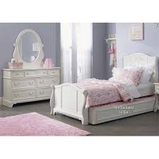 Liberty Furniture Arielle 3 Piece Full Sleigh Bedroom Set in White