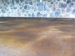 DIY Stained Concrete Ideas Stained Concrete Porch Ideas Stained