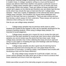 college essays examples that worked college essays that work  cover letter good example essays college application memoir essay examples of good essaysgood college application essay