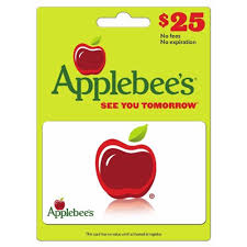 restaurant gift cards bj s whole club 25 applebee s gift card