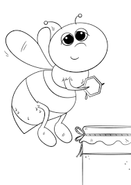 Small Picture Bees coloring pages Free Coloring Pages