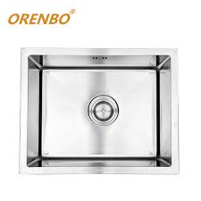 Pekoe Extra Deep Undermount 23x18 Single Bowl Kitchen Sink Single Drain Kitchen Sink Plumbing