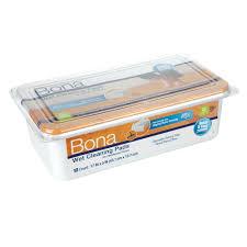 bona hardwood floor wet cleaning pads 12 pack
