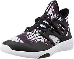 reebok hayasu. reebok women\u0027s hayasu black, white and graphic dance shoes - 6 uk/india (