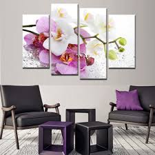 2018 hot sell pink orchid flowers wall art picture modern home decoration living room canvas print painting canvas art decorative picture from maplepainting  on orchid flower wall art with 2018 hot sell pink orchid flowers wall art picture modern home