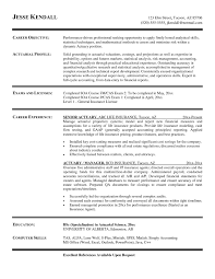 Actuary Resume Example Best Of Actuary Resume Template New Elegant Actuarial Resumes Baskanai