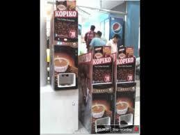 Kopiko Vending Machine Fascinating PLANET MOBILE BUSINESS CLUB For Sale Kopiko Vendo Machine YouTube