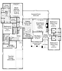 2500 sq ft ranch house plans lovely 209 best house plans images on of 2500