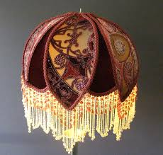 victorian bed lamps and bridge lamp shades are two types we custom design for clients around the world we are located in the us and ship world wide