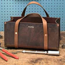 klein leather tool bags tote portable bag by wade tools uk klein leather tool bags