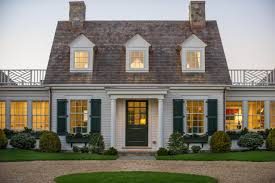new england style dream home