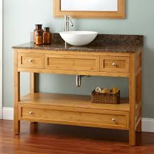 bamboo vanity bathroom. 48\ Bamboo Vanity Bathroom