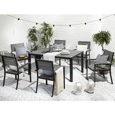 garden dining set 6 seater table chairs
