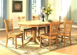 6 seat dining room table round dining table set for 6 table and 6 chairs full
