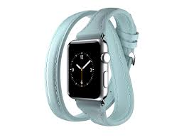 apple watch 38mm leather band uptown double wrap band mint cell phones 4g mobile plans tablets smart watch apps portables accessories