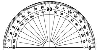 printable protractor. angles and protractors printable protractor i