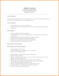 dental assistant resume objective com dental assistant resume objective and get inspiration to create a good resume 19