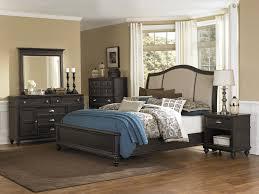 transitional bedroom furniture. Modern Transitional Bedroom Idea With Black Bed Furniture N