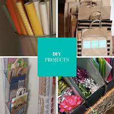 check out these wonderful diy projects for making your own gift wrapping station out of these items