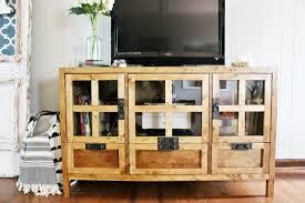 diy display media console