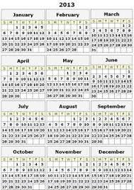 printable year calendar 2013 74 best printable calendars images printable calendars print