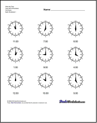 Ideas About Math Worksheets For Telling Time, - Wedding Ideas