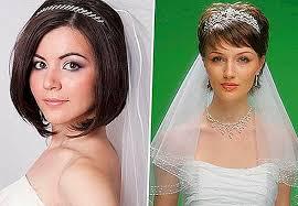 Svadobné účesy So Závojom Pre Krátke Stredné A Dlhé Vlasy Foto