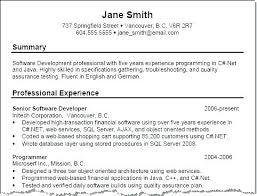 Resume Executive Summaries 7 Sample Executive Summary For Resume Example Template
