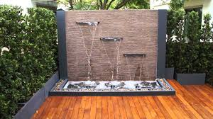 awesome modern garden fountain designs ideas and wall fountains water feature for clock design square metal
