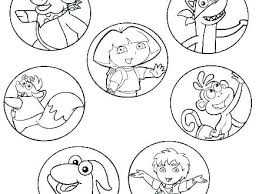 Coloring Coloring Pages Printable Nick Jr Free Princess Coloring
