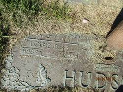 Louie Byron Hudson Sr. (1887-1965) - Find A Grave Memorial